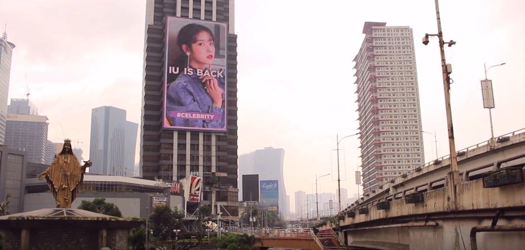 IU comeback ad EDSA