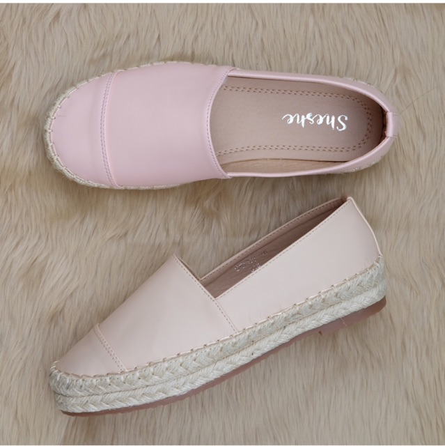 Pink items: shoes