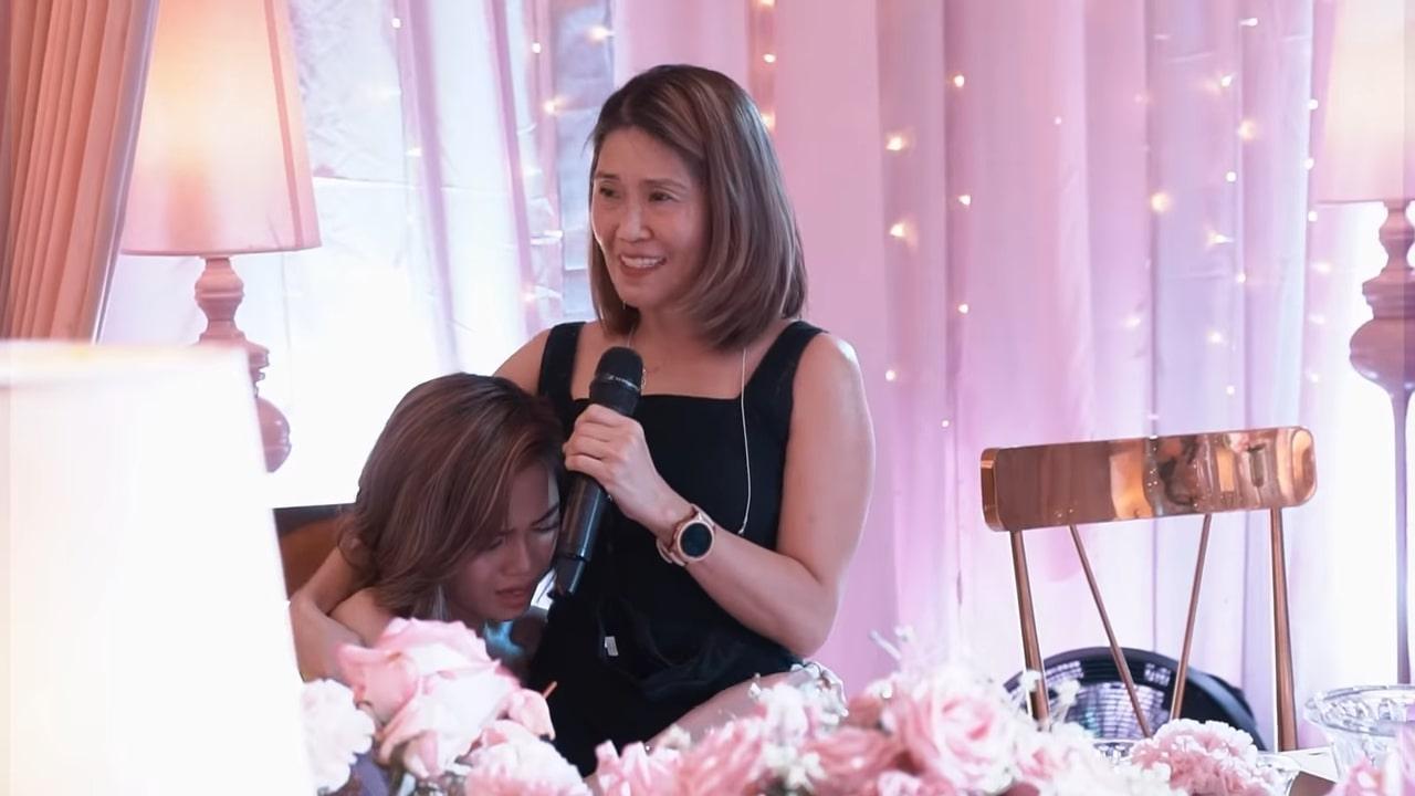 AC Bonifacio - AC's mom giving speech