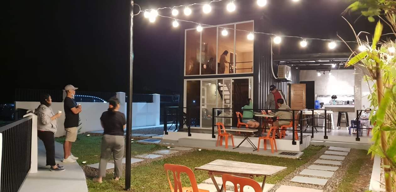 TINY HOUSE: View at night