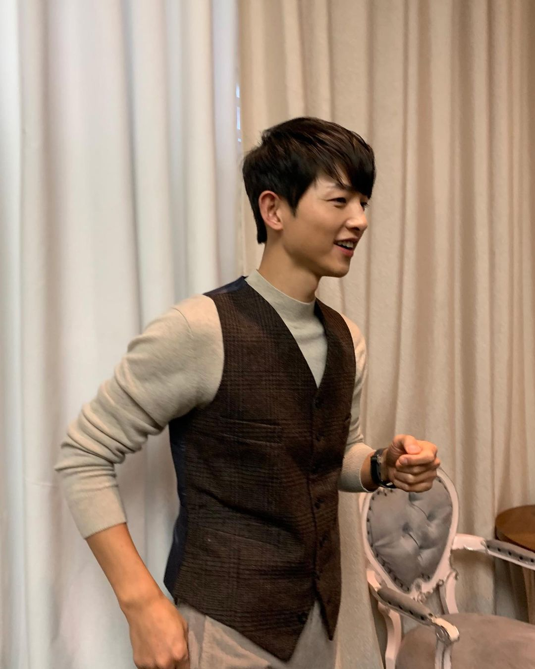 Song Joong Ki is a hardworking actor