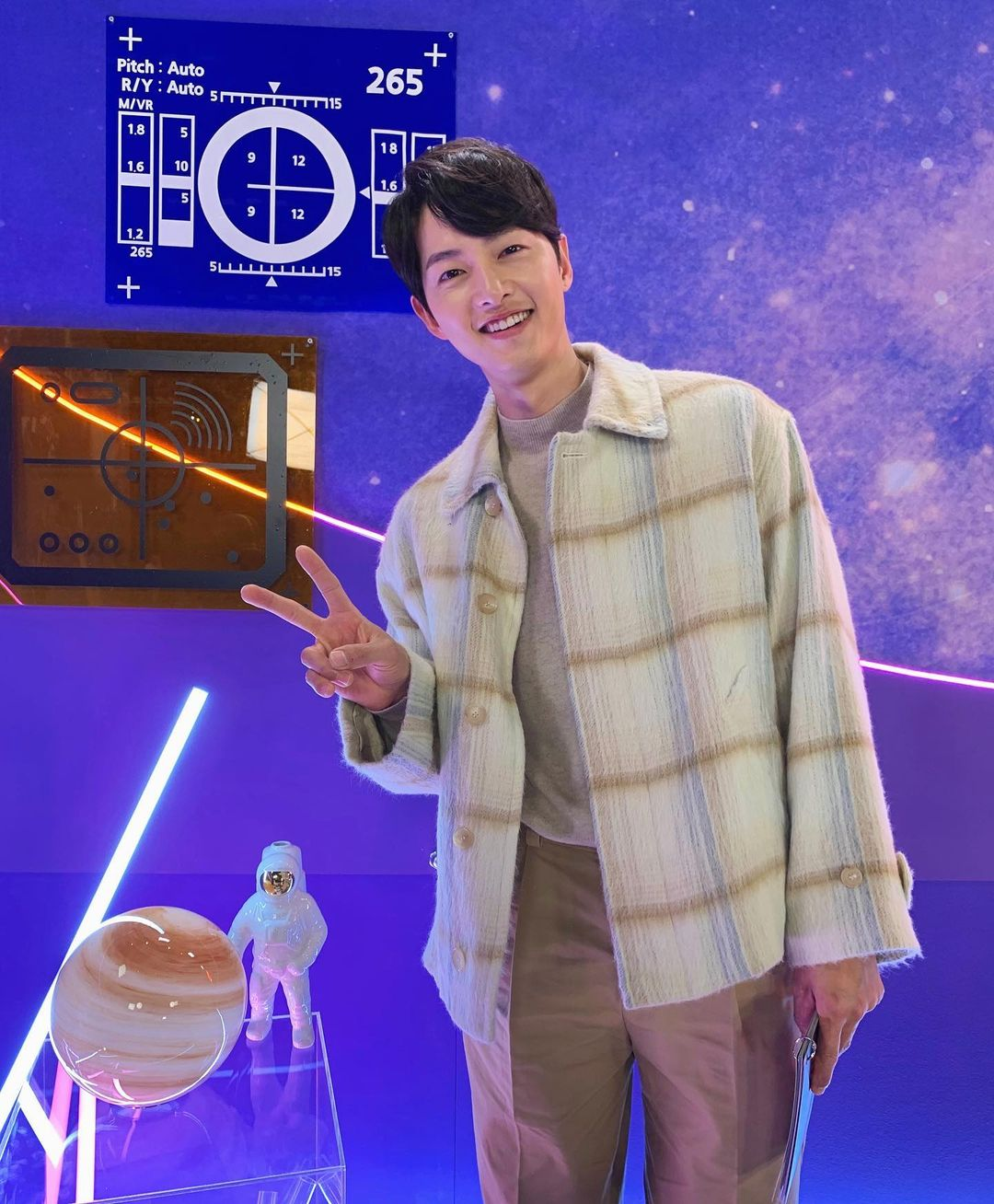 Song Joong Ki in Space Sweepers