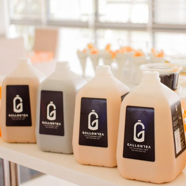 Gallontea milk tea