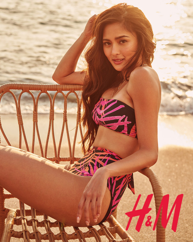 Kim Chiu H&M Philippines: bandeau two-piece bikini