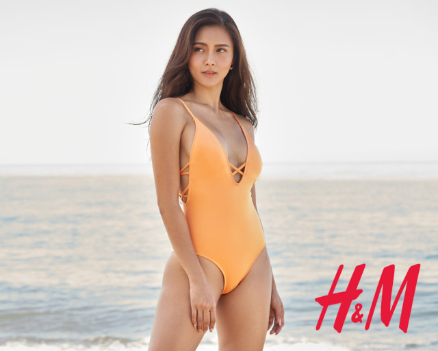 Kim Chiu H&M Philippines: one-piece swimsuit