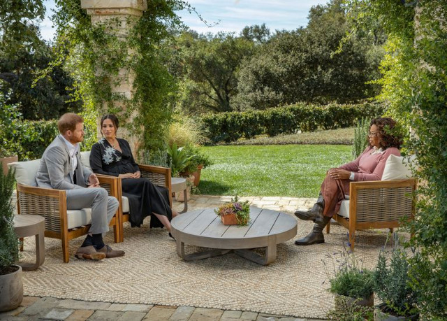 Prince Harry and Meghan Markle's interview with Oprah Winfrey