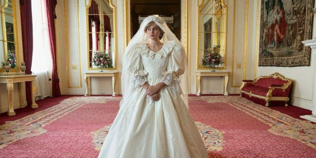 Princess Diana on The Crown
