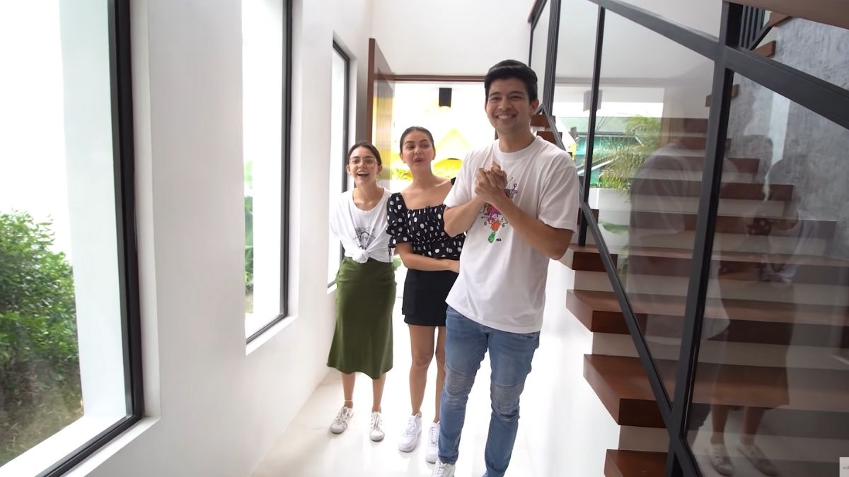 Rayver Cruz's home transformation: reaction upon entering the house