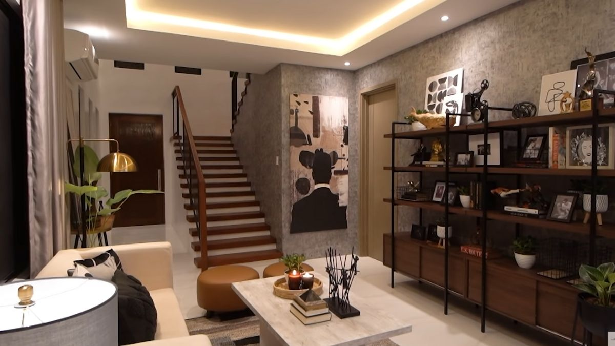 Rayver Cruz's home transformation: view of the ground floor