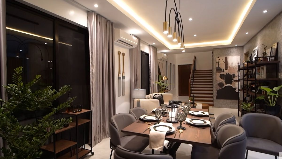 Rayver Cruz's home transformation: dining area