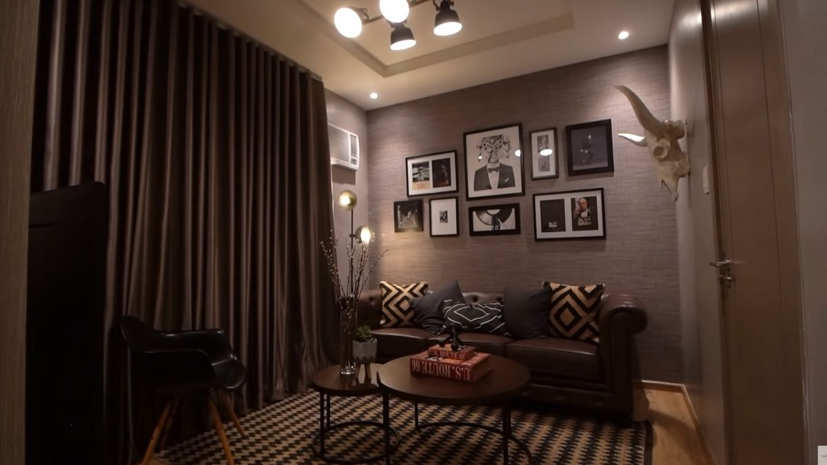 Rayver Cruz's home transformation: entertainment room