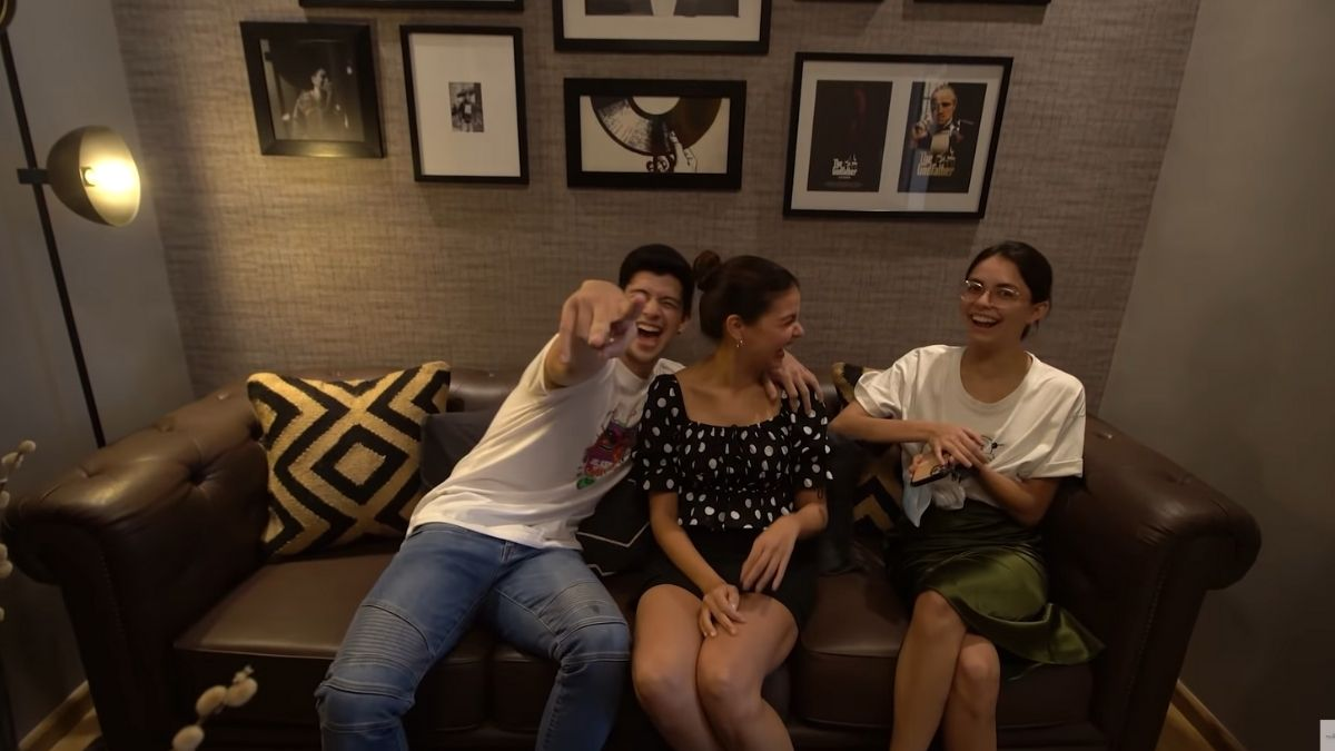 Rayver Cruz's home transformation: reaction to entertainment room