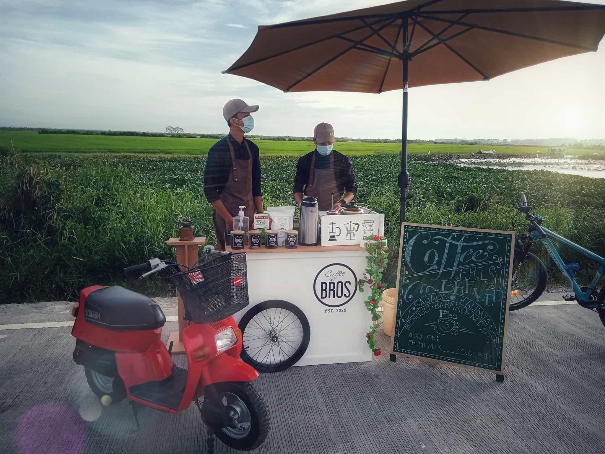 coffee stand: along candaba road, pampanga