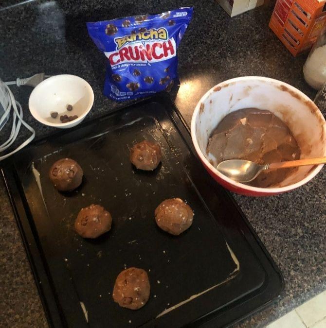 BRB Taking A Break: Baking, cookie dough