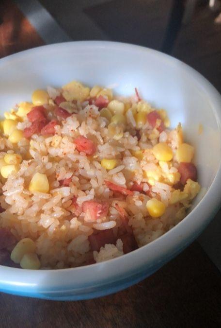 BRB Taking A Break: Baking, fried rice