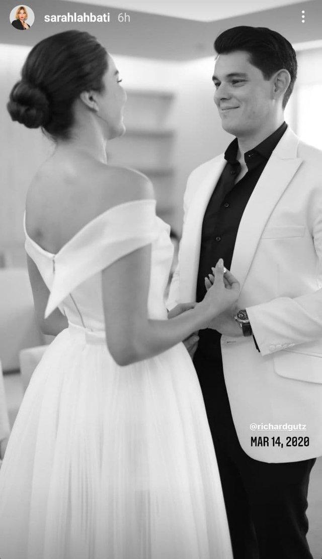 sarah lahbati richard gutierrez wedding
