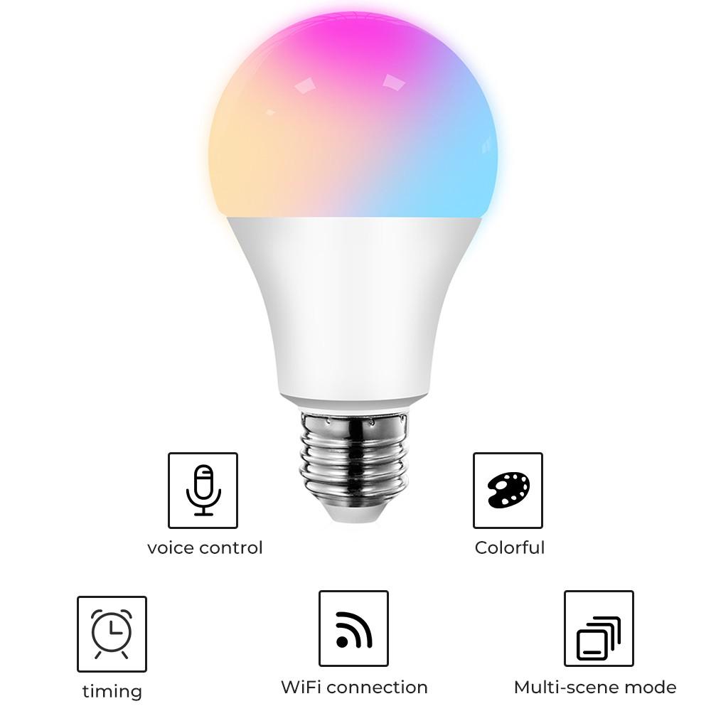 smart light bulbs: SMATRUL Wifi Smart Led Light Bulb E27