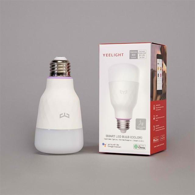 smart light bulbs: Xiaomi YEELIGHT 1S Smart LED Bulb Colorful Light Version
