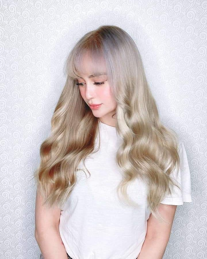 Arci Munoz's new hair color in full glory