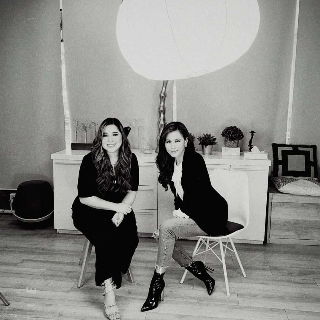 Toni Gonzaga interviews Moira Dela Torre for Toni Talks