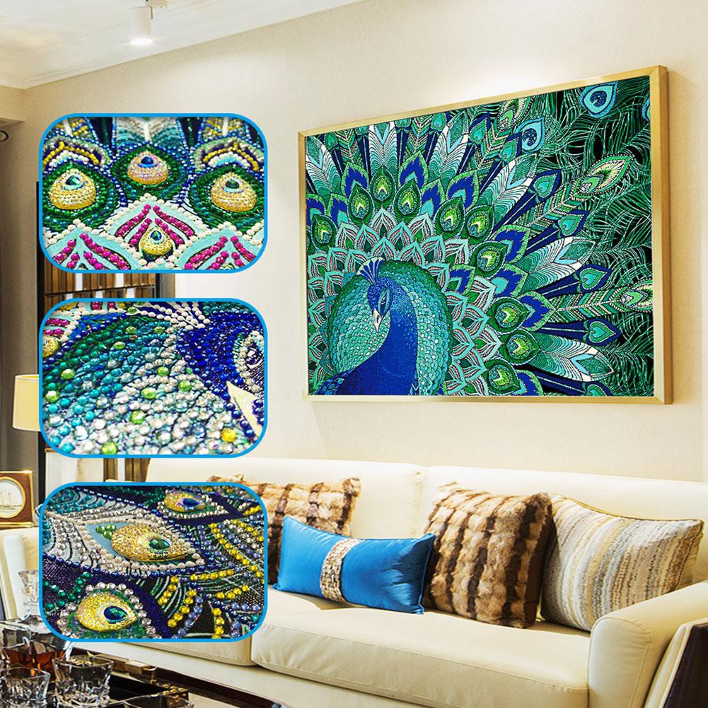 diamond painting kit: wall decor