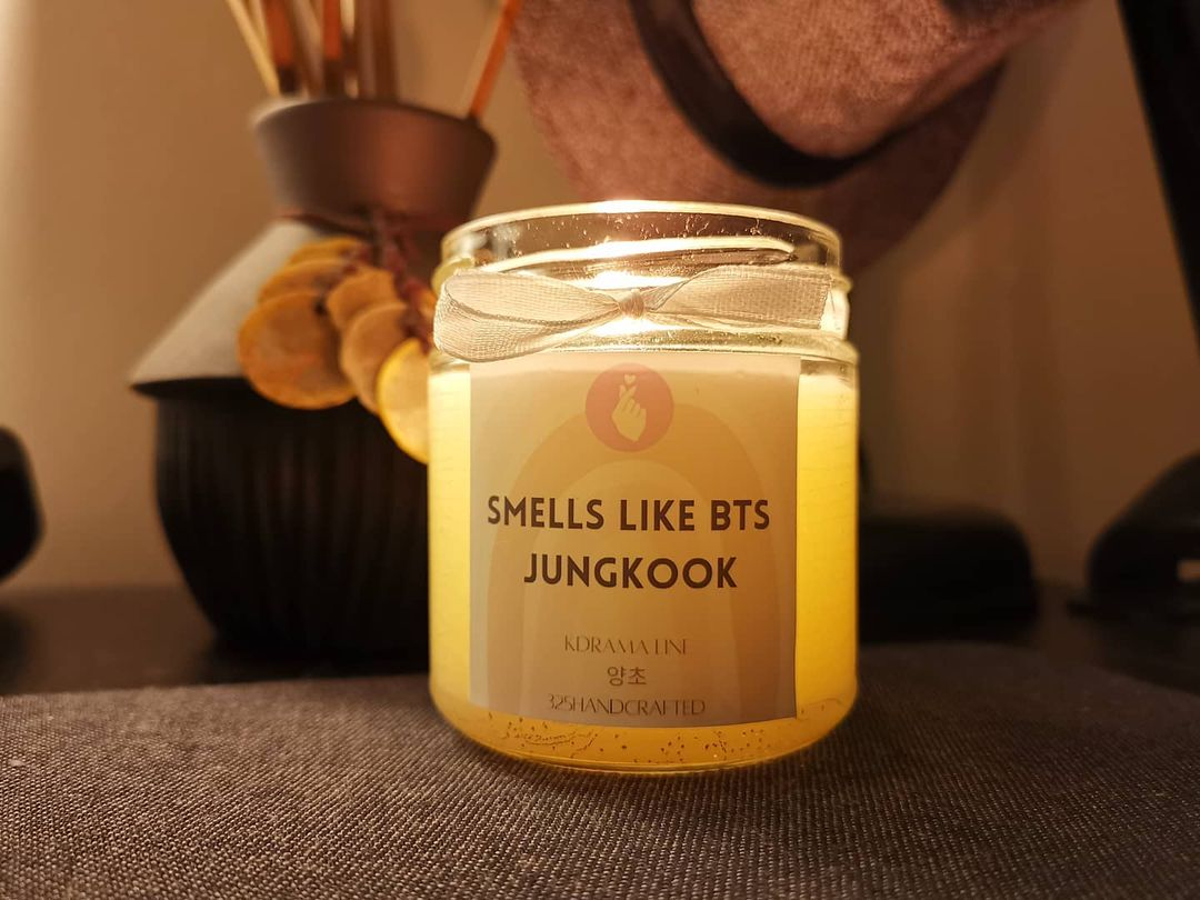 Candles that smell like BTS' Jungkook
