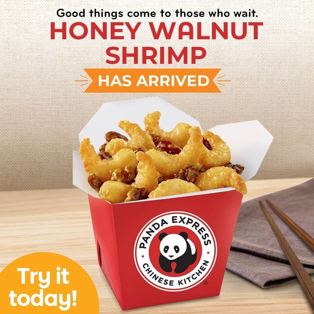Panda Express Philippines adds Honey Walnut Shrimp to the menu