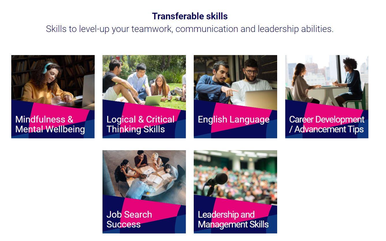 jobstreet: transferrable skills
