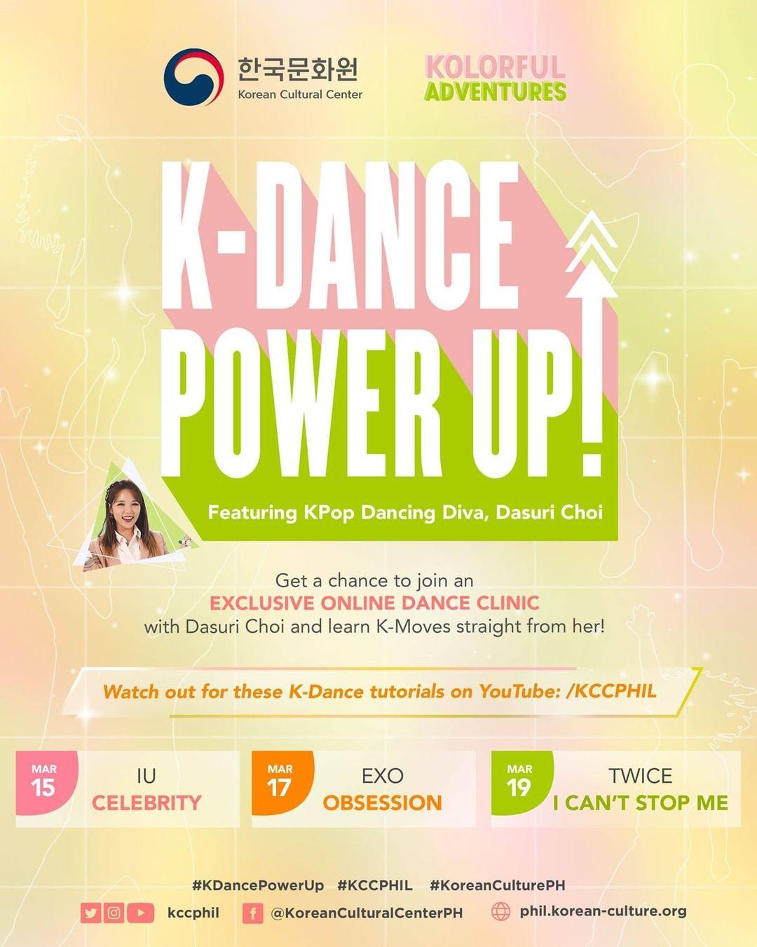 Korean Cultural Center in the Philippines' free K-pop dance tutorial