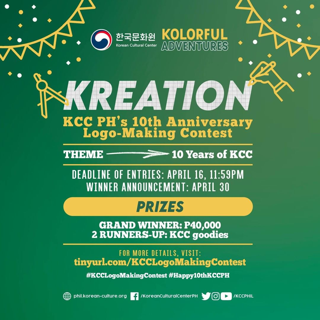 Korean Cultural Center in the Philippines logo-making contest