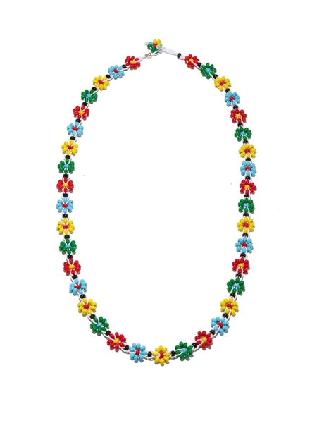 The Bottega Veneta Floral-Beaded Necklace worth PHP 150,000.00