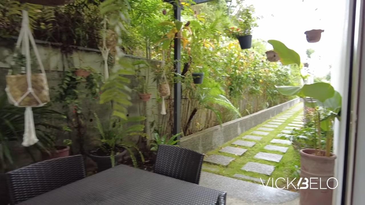 Piolo Pascual hilltop mansion tour: plants