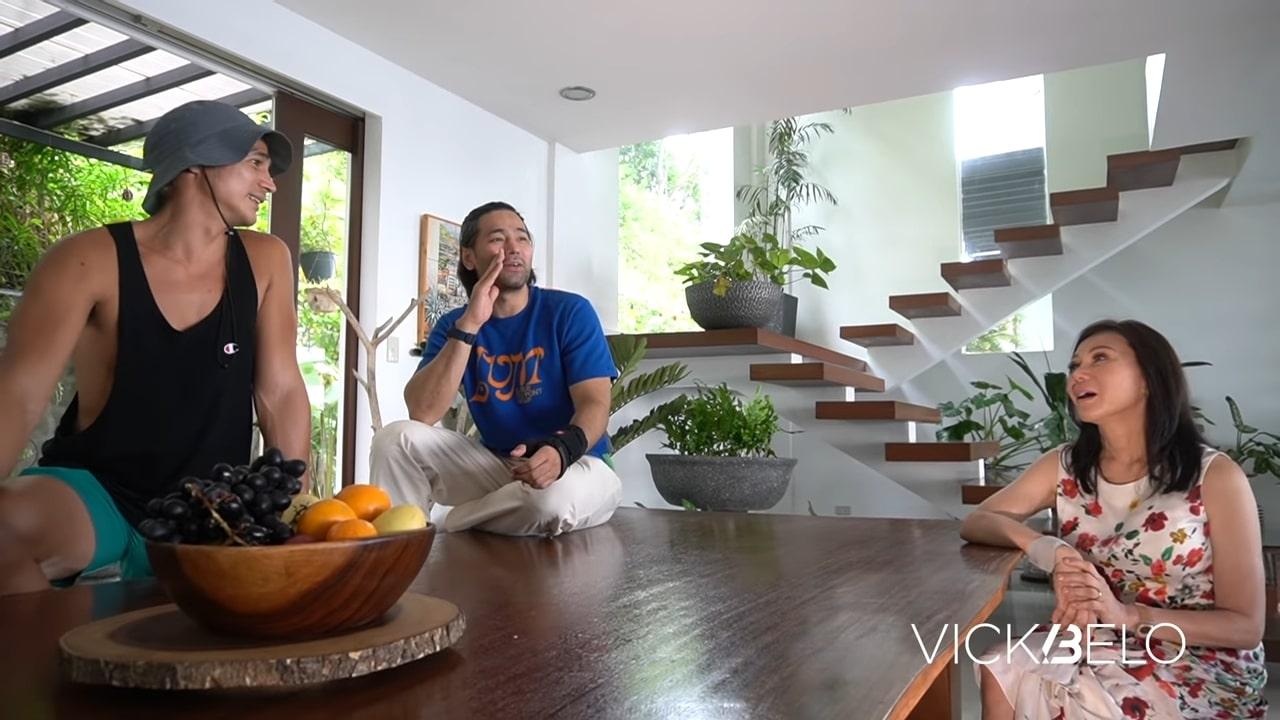 Piolo Pascual hilltop mansion tour: common area