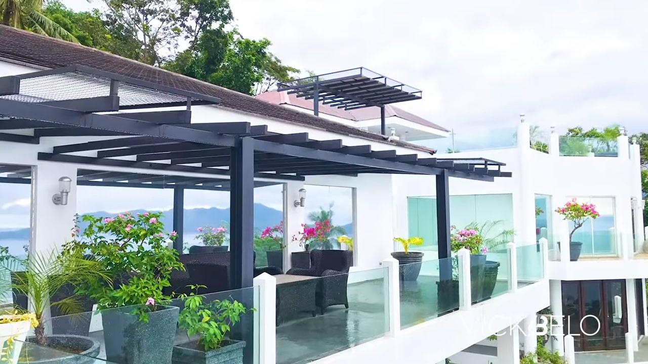 Piolo Pascual hilltop mansion tour: viewdeck