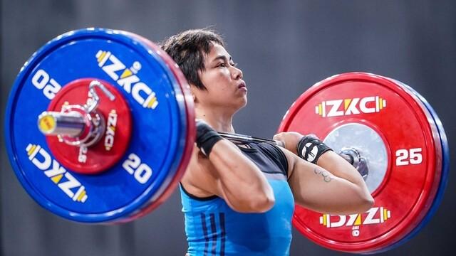 hidilyn diaz weightlifter