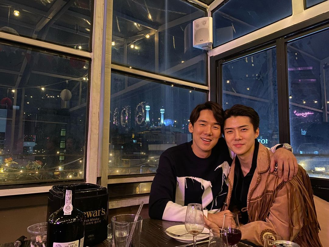 Yoo Yeon Seok and EXO's Sehun