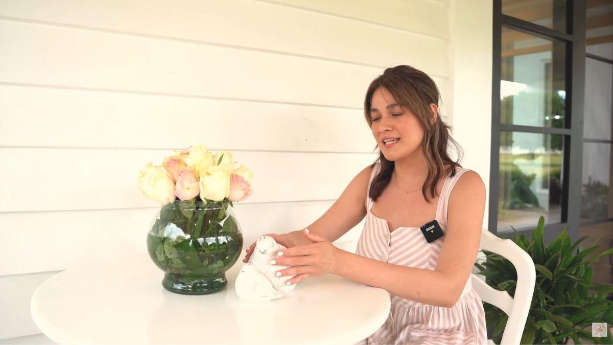 Bea Alonzo farm house tour in Zambales: breakfast nook