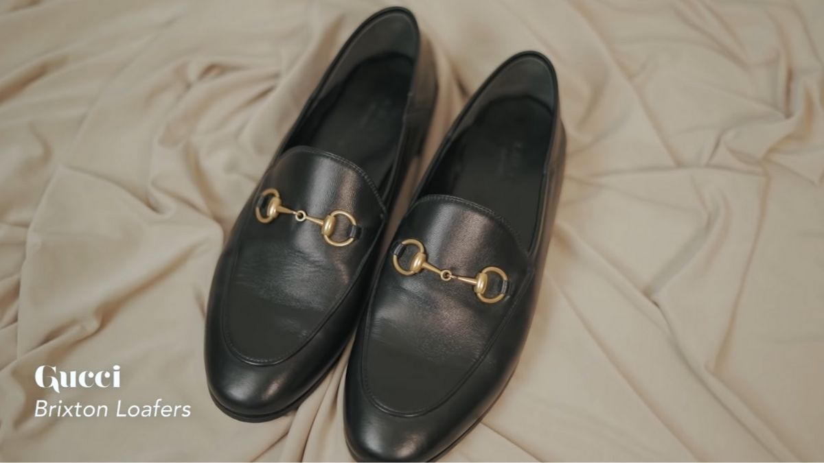 Kathryn Bernardo's designer shoe collection: Brixton Loafers by Gucci