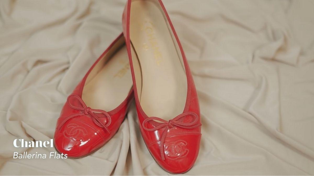 Kathryn Bernardo's designer shoe collection: Ballerina Flats by Chanel