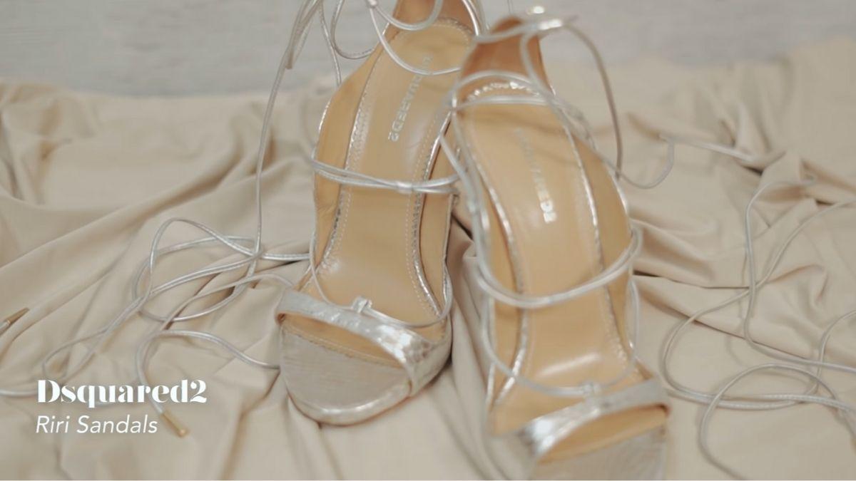 Kathryn Bernardo's designer shoe collection: Riri Sandals by Dsquared2
