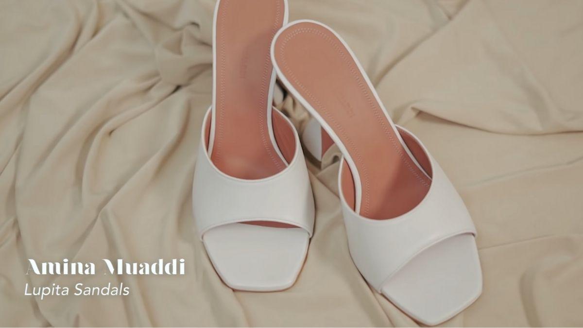 Kathryn Bernardo's designer shoe collection: Lupita Sandals by Amina Muaddi