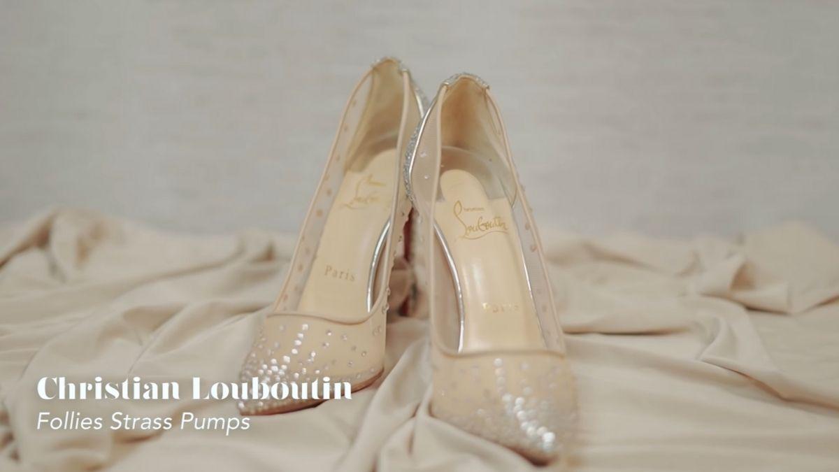Kathryn Bernardo's designer shoe collection: Follies Strass Pumps by Christian Louboutin