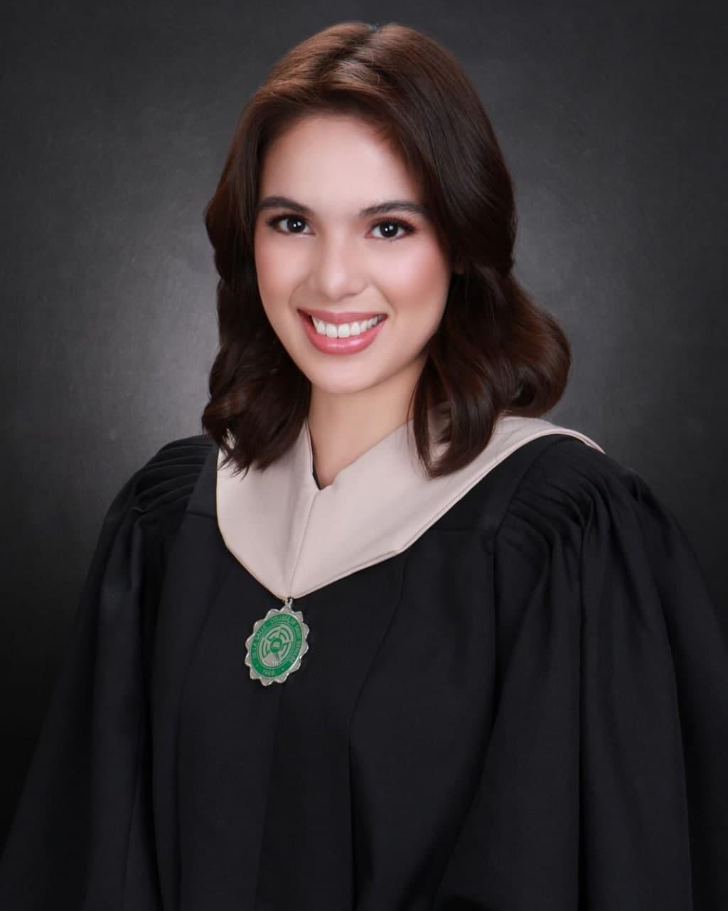 Michelle Vito's graduation photo as she graduates from DLS-CSB
