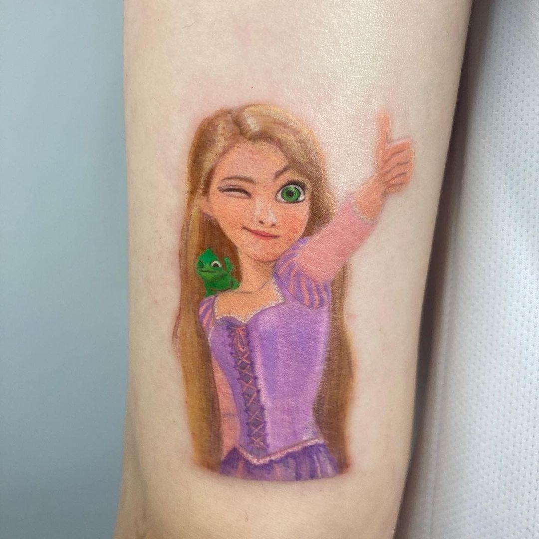 Tattooist Pooh