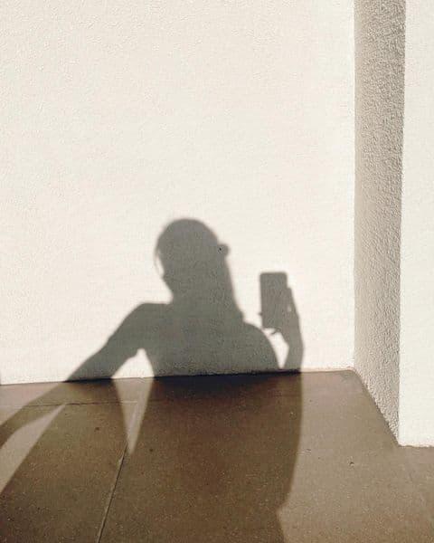 Miles Ocampo IG filler photos - shadow play