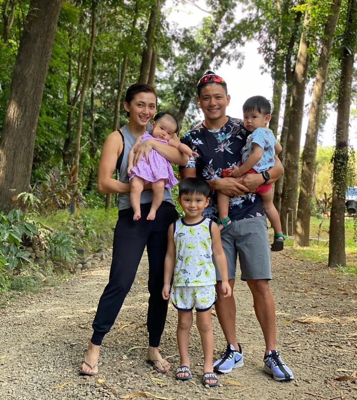 Iya Villania with husband Drew Arellano and kids