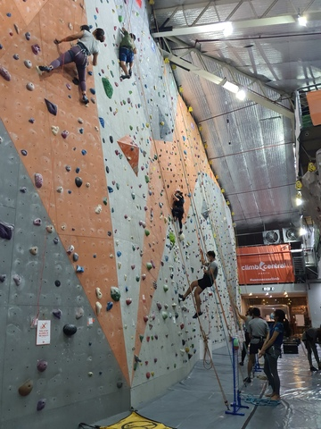 Raizel Baltazar's wall-climbing experience