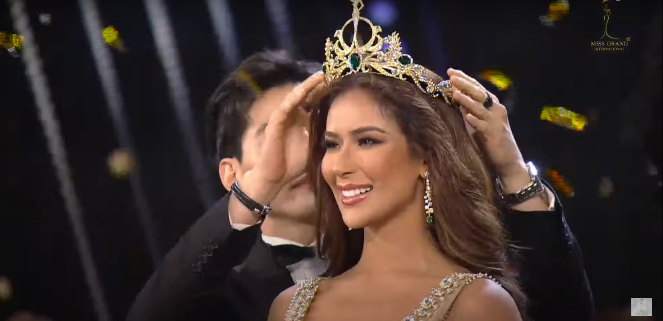Samantha Bernardo bagged the first runner-up prize in the recerently concluded Miss Grand International