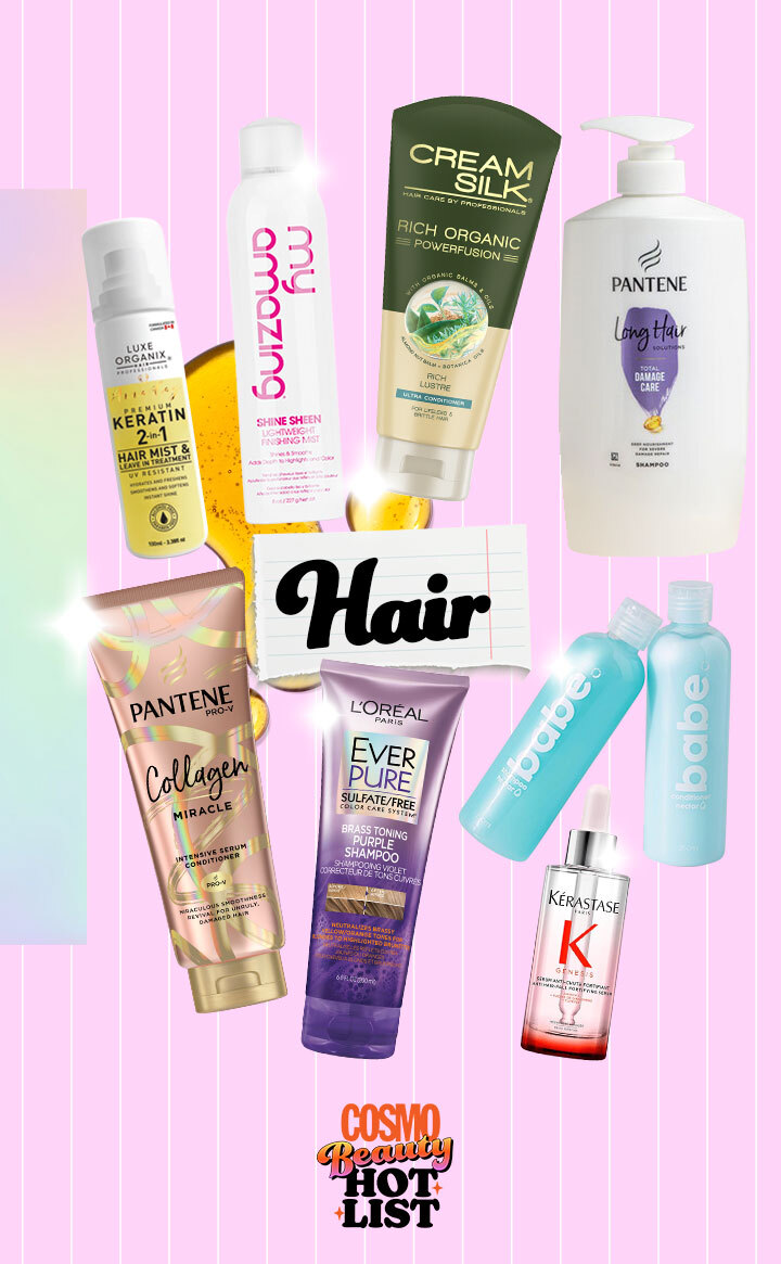 Best Beauty Products: Cosmo Beauty Hot List 2021 - Hair