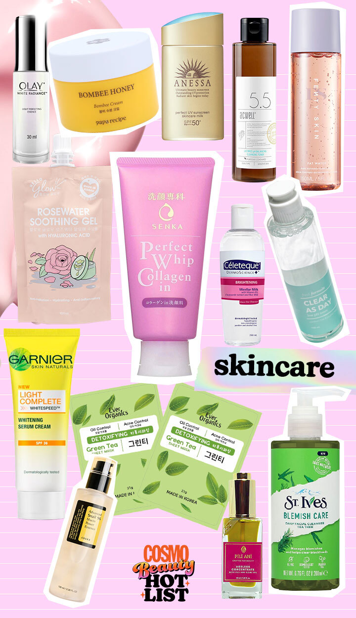 Best Beauty Products: Cosmo Beauty Hot List 2021 - Skincare